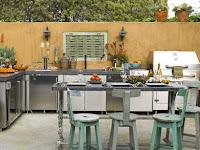 Inspirasi Aneka Desain Dapur Outdoor Cantik dan Keren