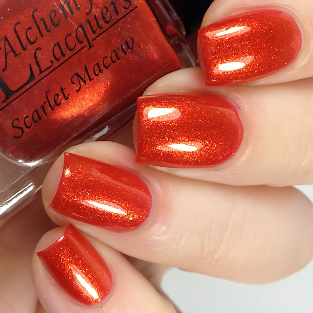 Alchemy Lacquers-Scarlet Macaw