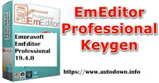 Emurasoft EmEditor Professional 19.4.0 Download With Keygen Latest