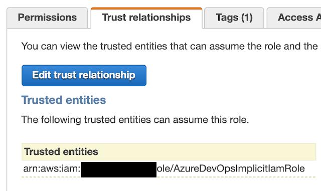 Edit Trust Relationships