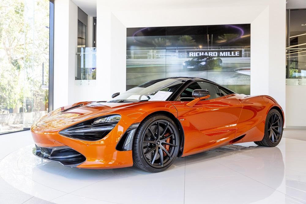McLaren officially opens Adelaide showroom