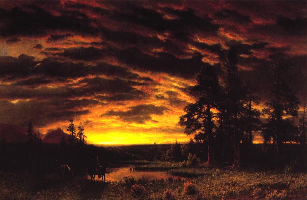 19th Century American Paintings Albert Bierstadt