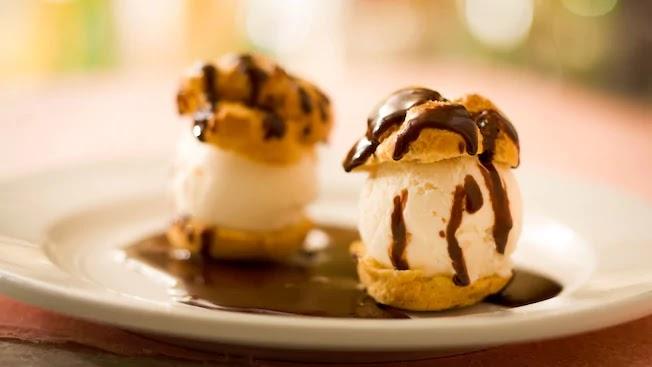 Sobremesa do restaurante Les Chefs de France no Disney Epcot Orlando