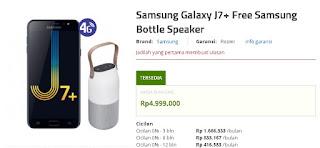 Launching Galaxy J7 plus Harga Bundling Dengan Samsung Bottle Speaker di Erafone
