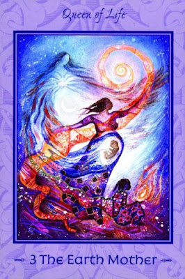 Mother Tarot - The Earth Mother-The Empress-Tarot of Transformation