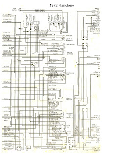 1972 ford ignition diagram free auto wiring diagram: 1972 ford ranchero wiring diagram #15