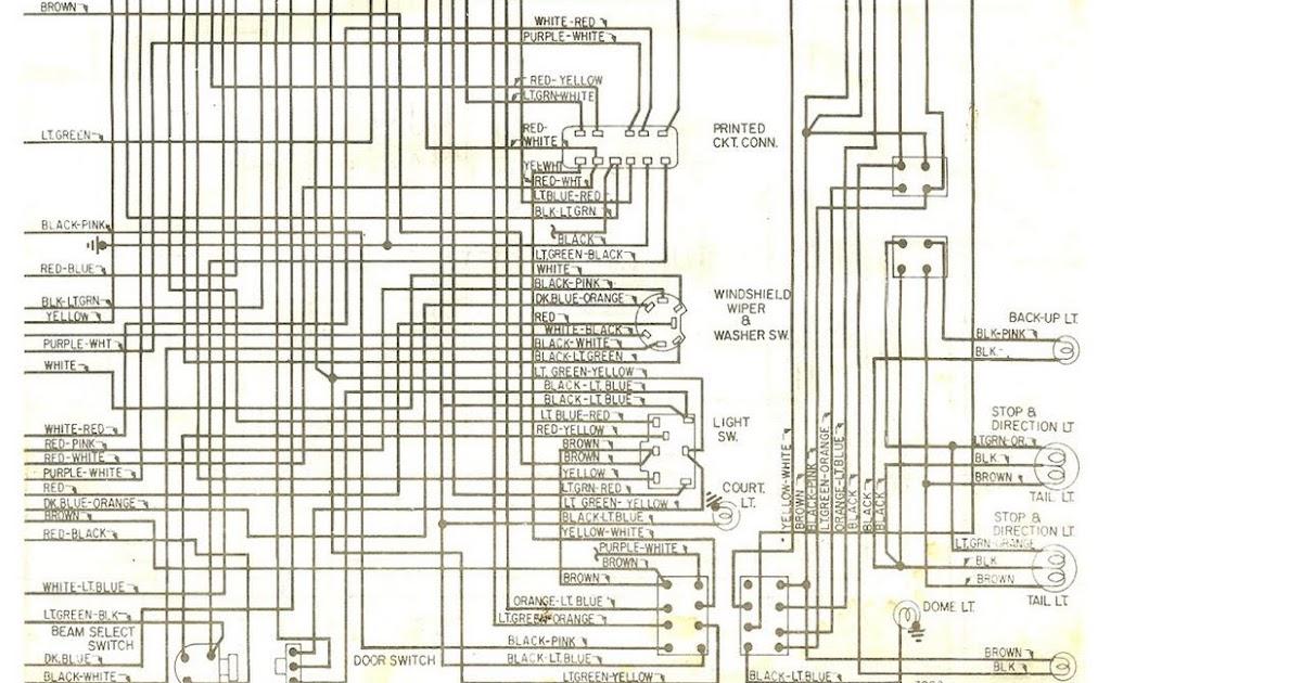 Free Auto Wiring Diagram: 1972 Ford Ranchero Wiring Diagram