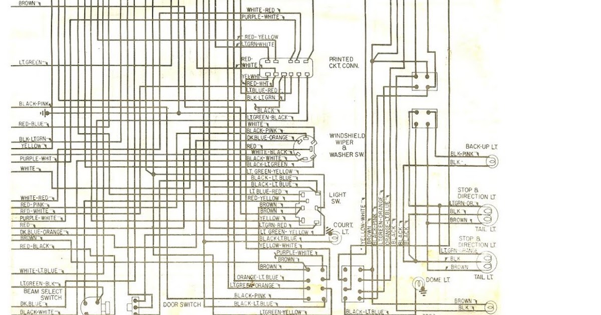70 Ford Wiring Diagram Wiring Diagram