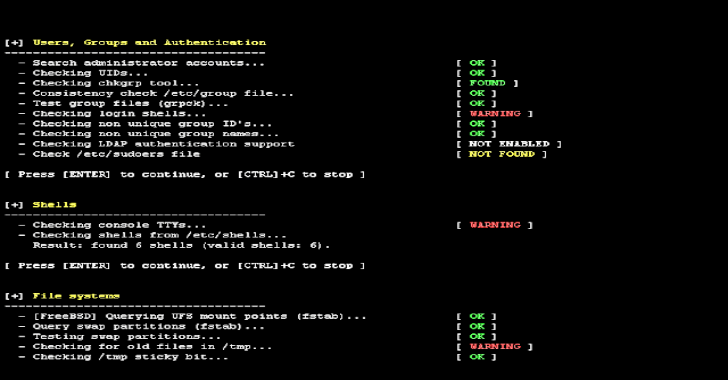 Lynis 3.0.0 – Security Auditing Tool for Unix/Linux Systems