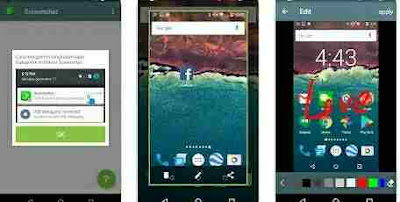 Aplikasi Screenshot Android - Screenshot dan Perekam Layar