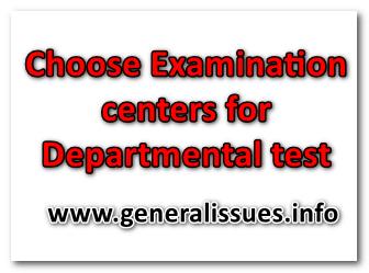 Dapertmental tests_Examination_centers