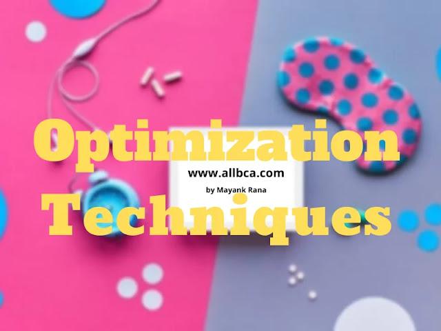 Optimization-Techniques-Notes-BCA-allbca