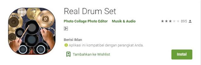 Aplikasi Real Drum Yang Ada Lagunya