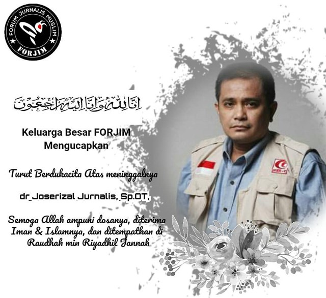 Dr Joserizal Jurnalis Meninggal-IGforjimindonesia