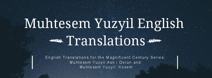 Kosem Sultan Episode 7 Translation   Muhtesem Yuzyil English