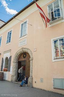 Casa de Mozart Salzburg, Áustria