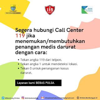 Call Center 119 Penanganan Medis Darurat