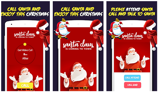 Santa Claus Christmas Call