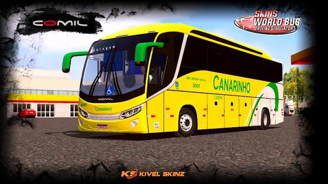 COMIL 1200 4X2 - VIAÇÃO CANARINHO