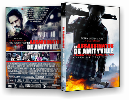 DVD OS ASSASSINATOS DE AMITYVILLE DVD-R AUTORADO 2020