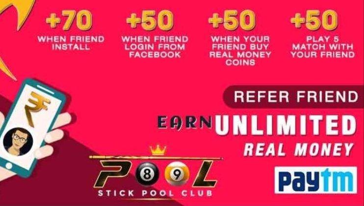 Stick pool club app loot