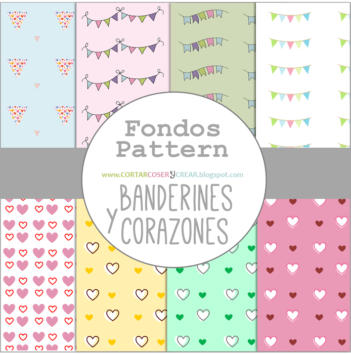 freebies, recursos, fondos pattern