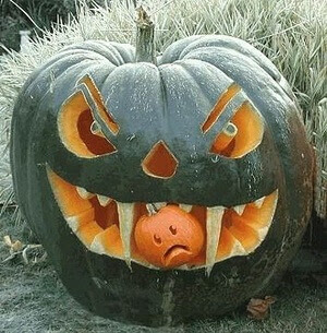 angry pumpkin carving ideas
