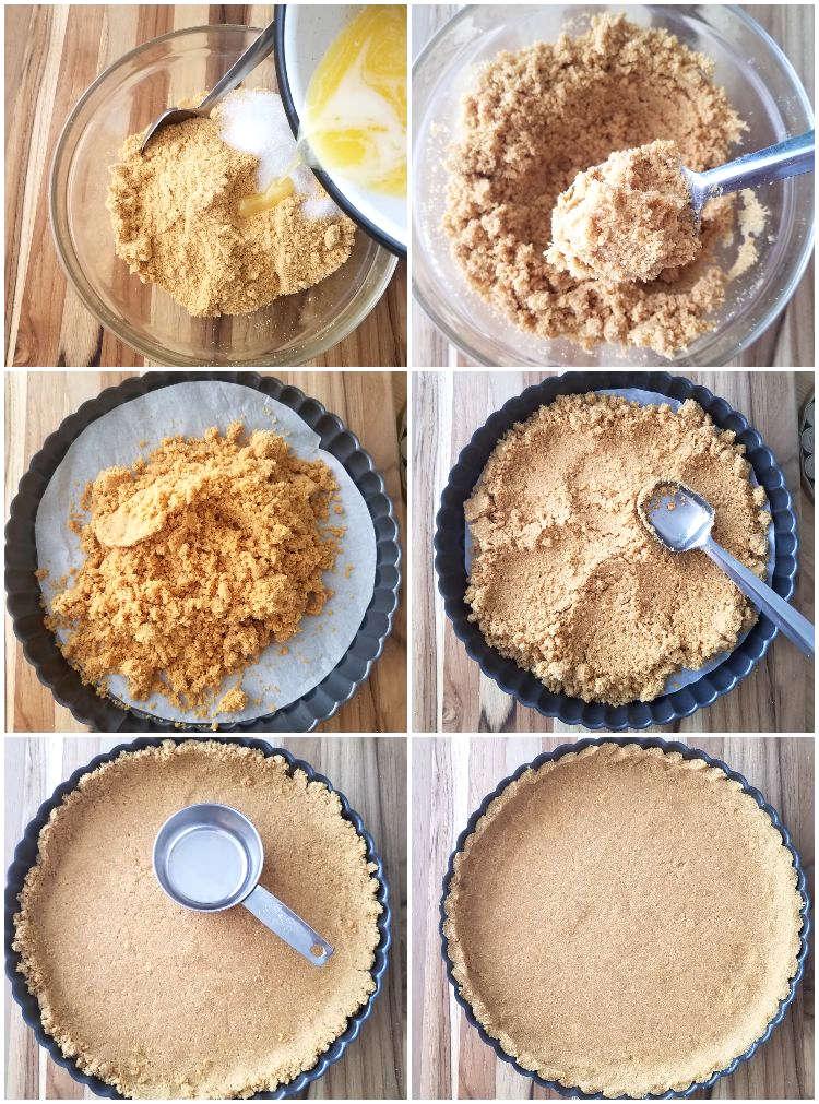 Cómo hacer una base de galletas para tarta