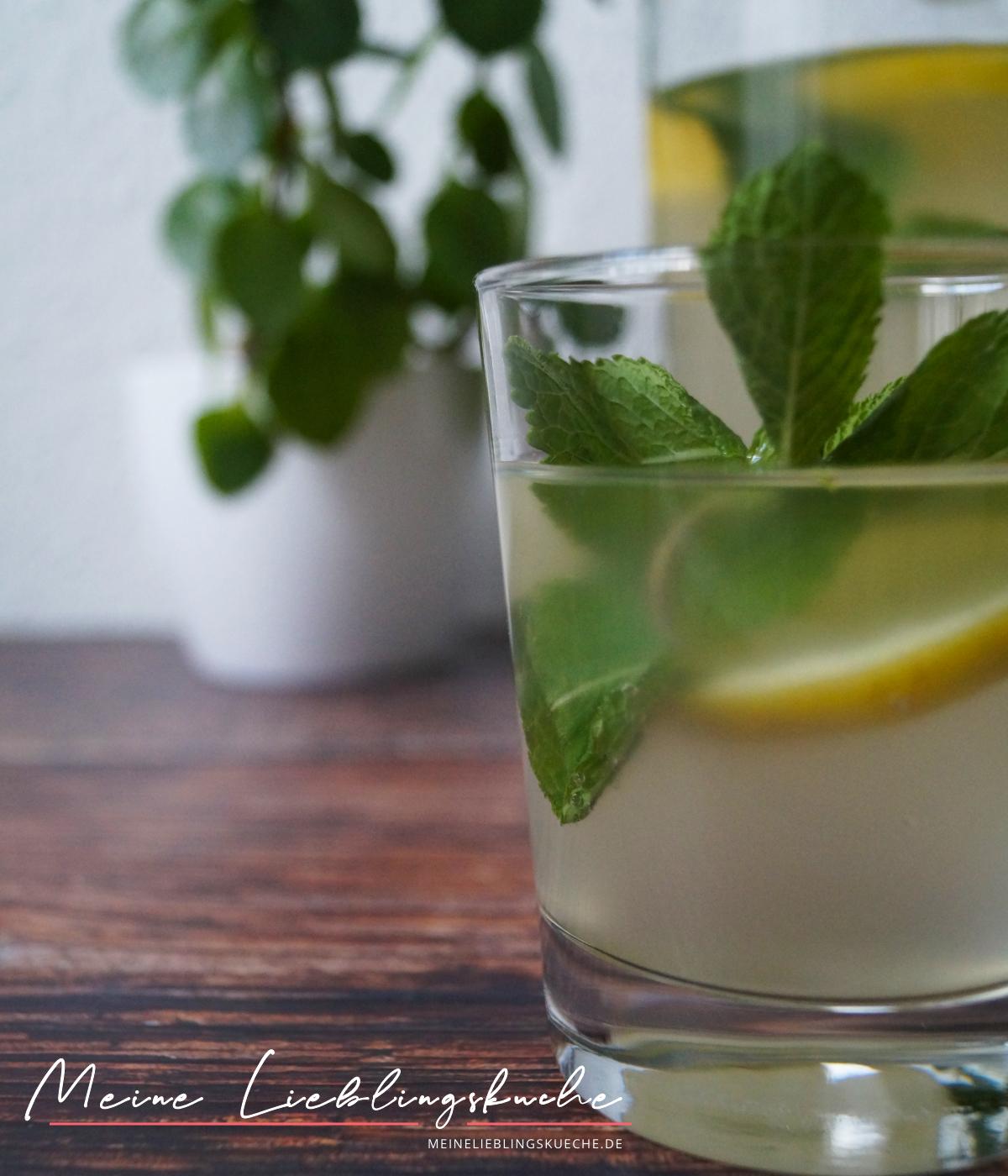 Limonade mit Wasserkefir