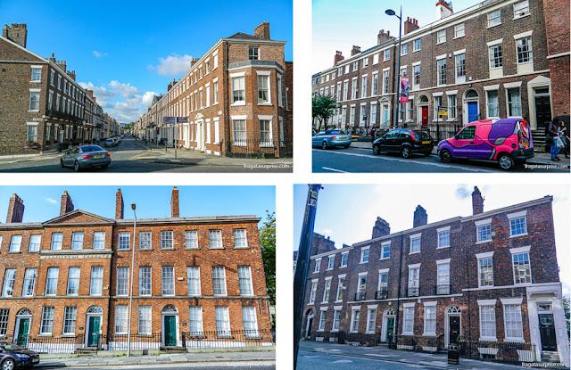 Conjuntos de casas georgianas de Liverpool