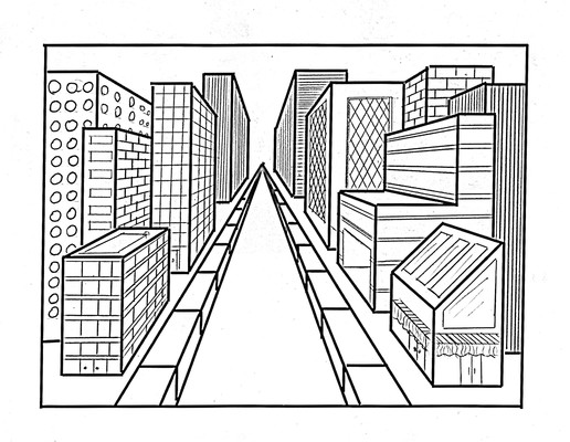 Art College Blog 12 Point Perspective