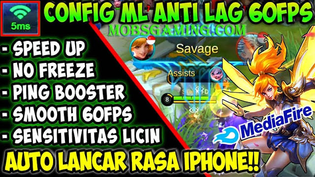 Script Anti Lag Ping Booster Mobile Legends