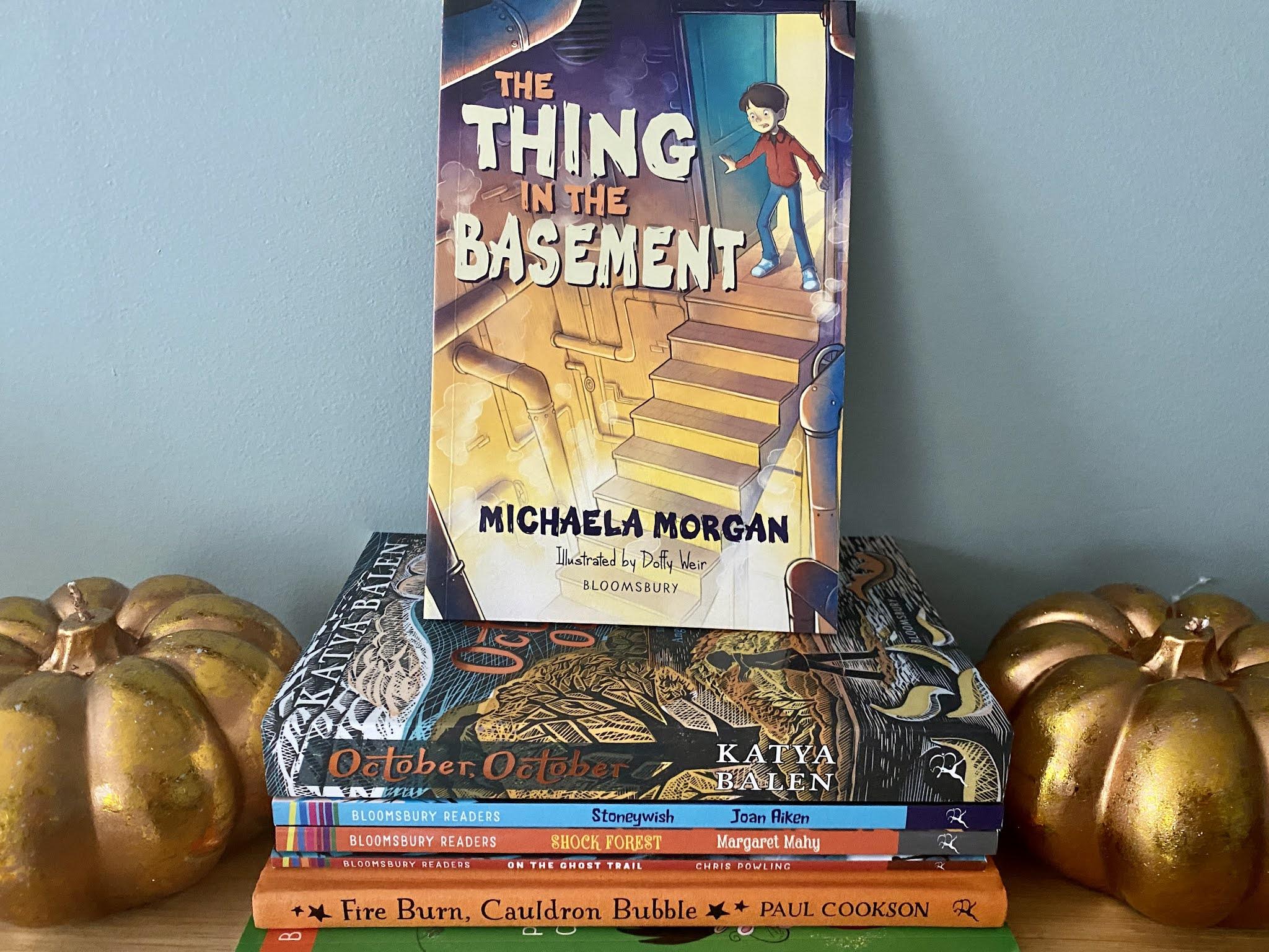 the thing in the basement book