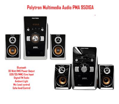 Harga Speaker Aktif Polytron PMA 9501