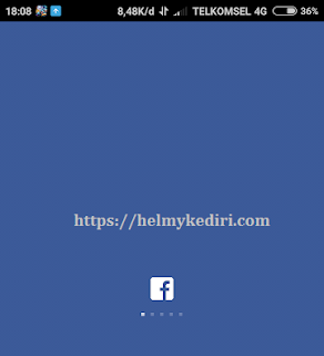 Akun facebook dikunci