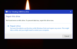 Trik Windows : Cara mengatasi error pada flash disk di Windows