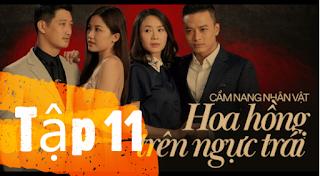 Phim Hoa Hồng Trên Ngực Trái Tập 11