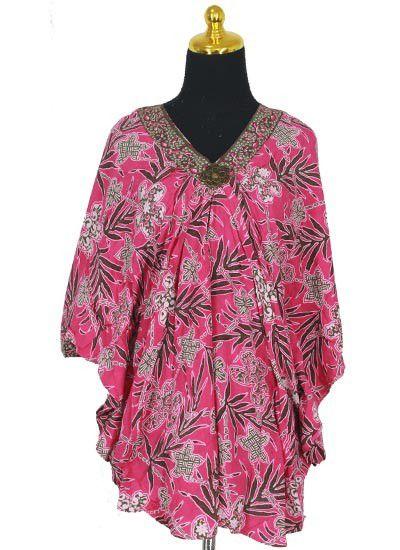 Model Baju Batik Kelelawar Untuk Pesta Terbaru