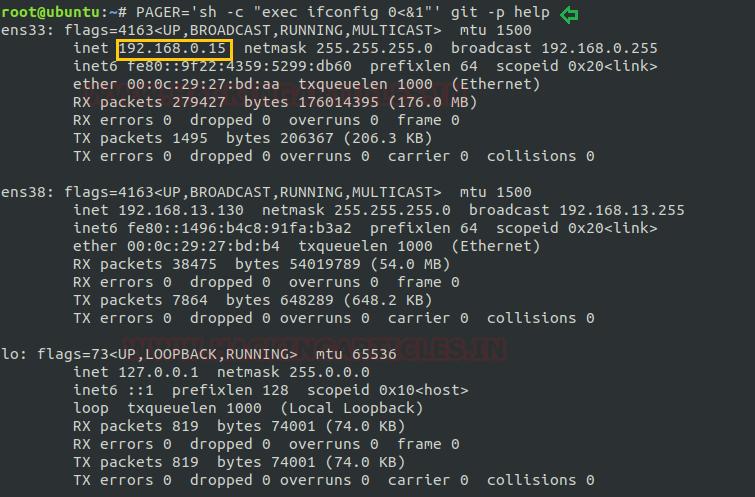 Linux for Pentester: git Privilege Escalation