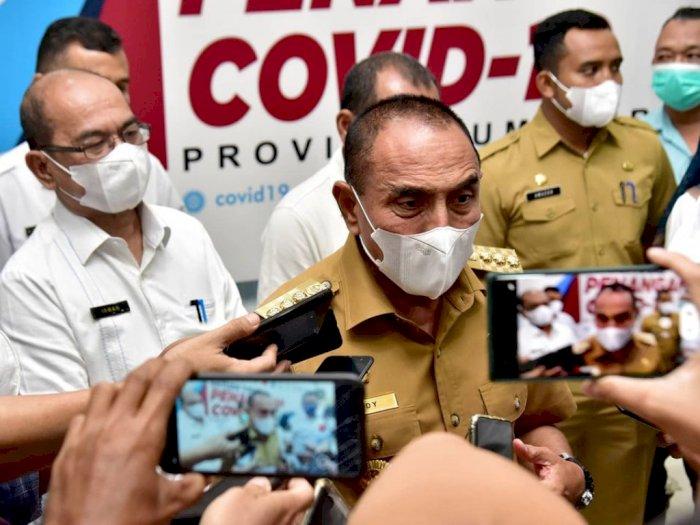 Sentil Bobby yang Ributkan Dana Rp 407 M, Gubsu Edy: Hal Kayak Gini Gak Perlu Pakai Wartawan, Bicara Langsung ke Saya!
