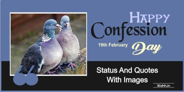 Confession Day Quotes In Hindi