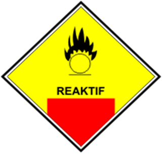 Simbol Mudah Reaktif