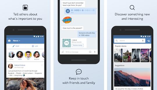 VK App Screenshots
