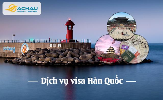 các bước xin visa Hàn Quốc