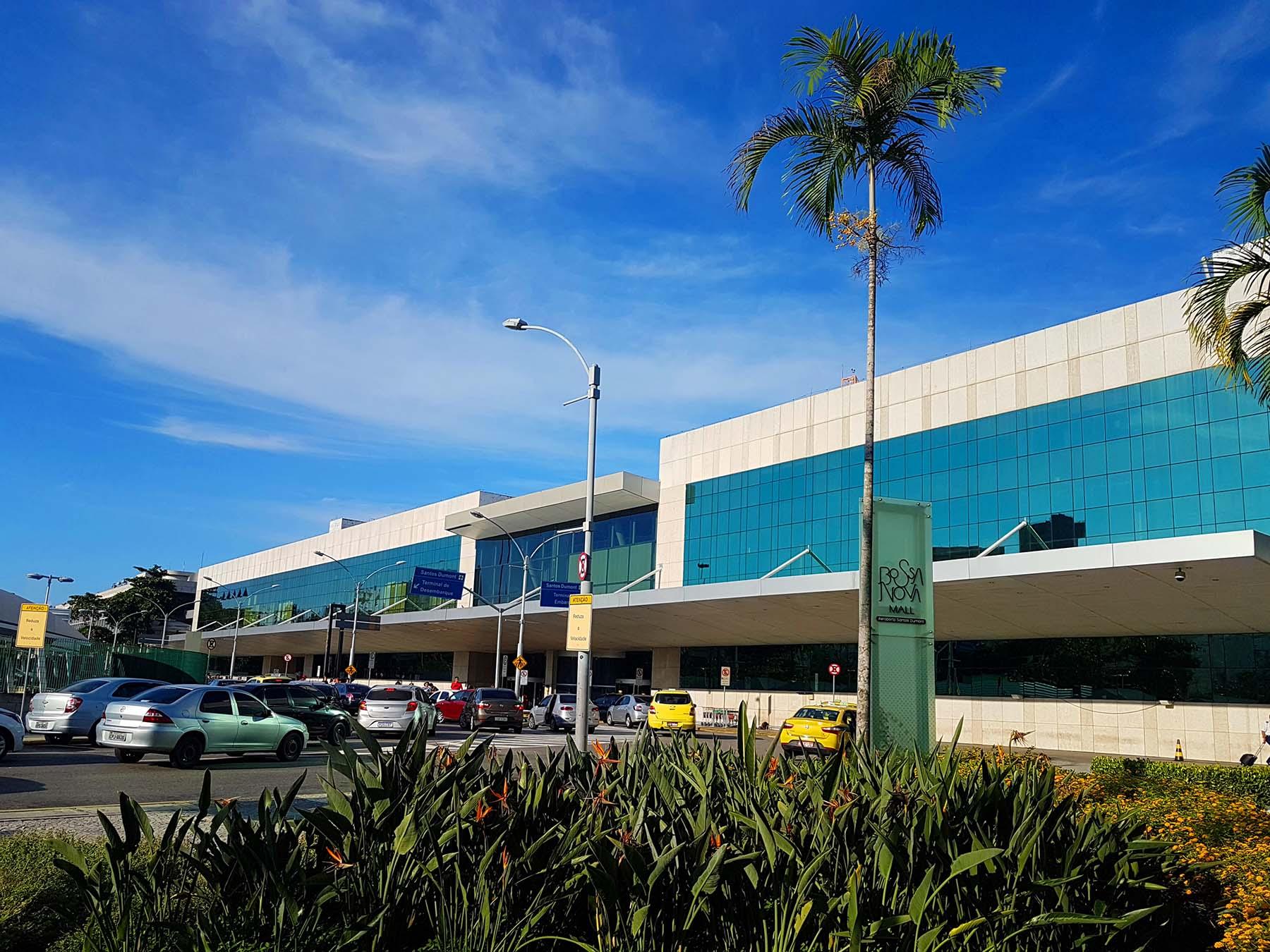 Aeroporto Santos Dumont no Rio de Janeiro.