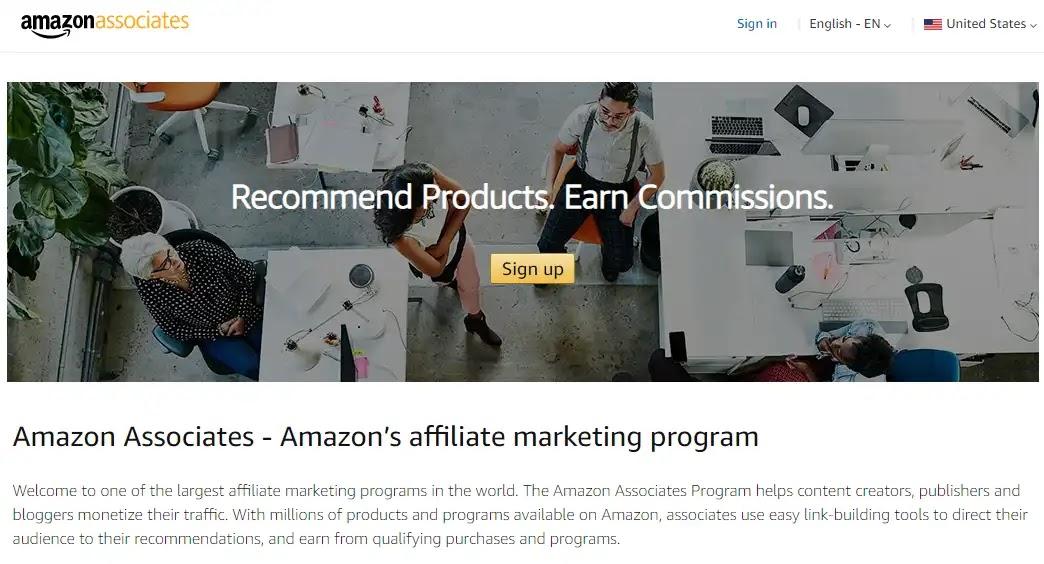 Amazon's Affiliate Marketing Program