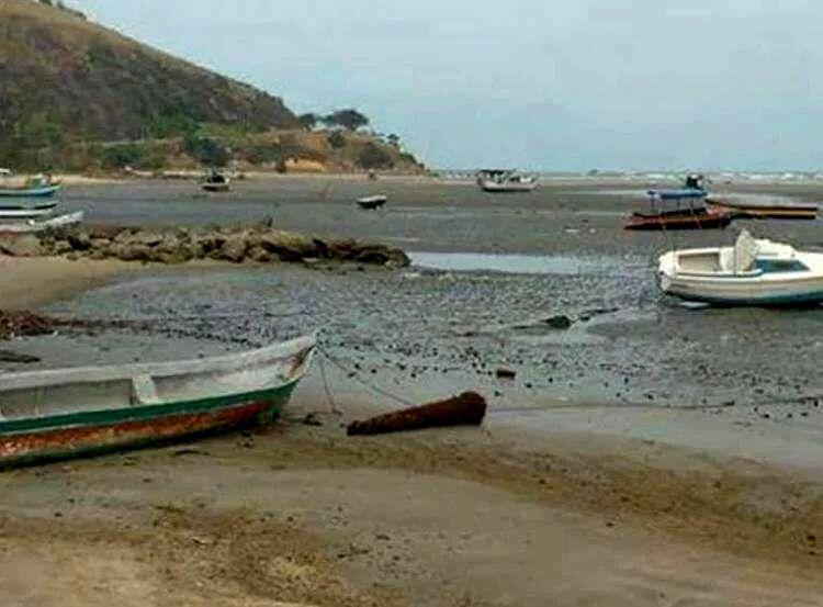 Recuo do mar em Caraguatatuba não tem relação com tsunami
