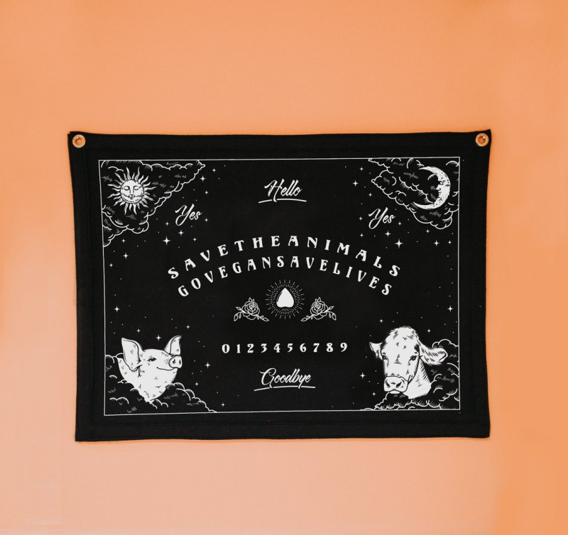 HeartStreet - Sundaze Store - Vegan Witch Ouija Board Tapestry