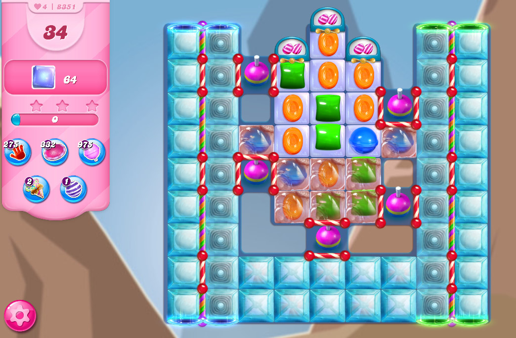 Candy Crush Saga level 8351