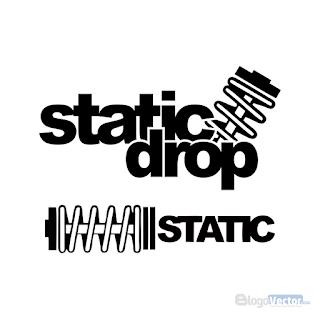 Static Drop Logo vector (.cdr)